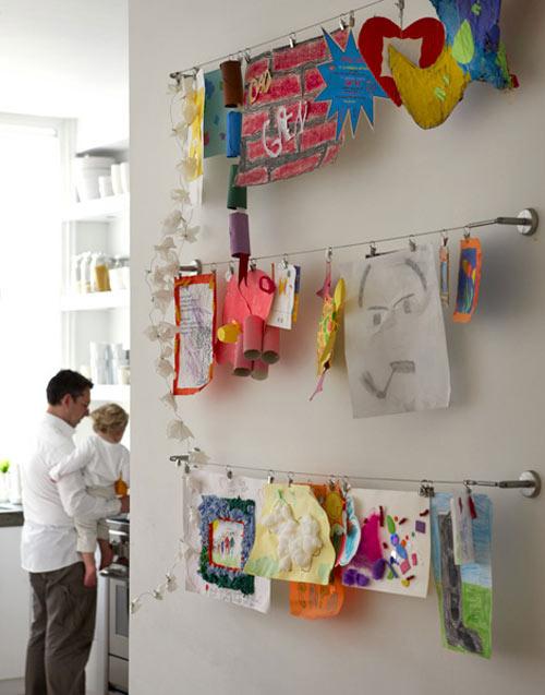 art display line