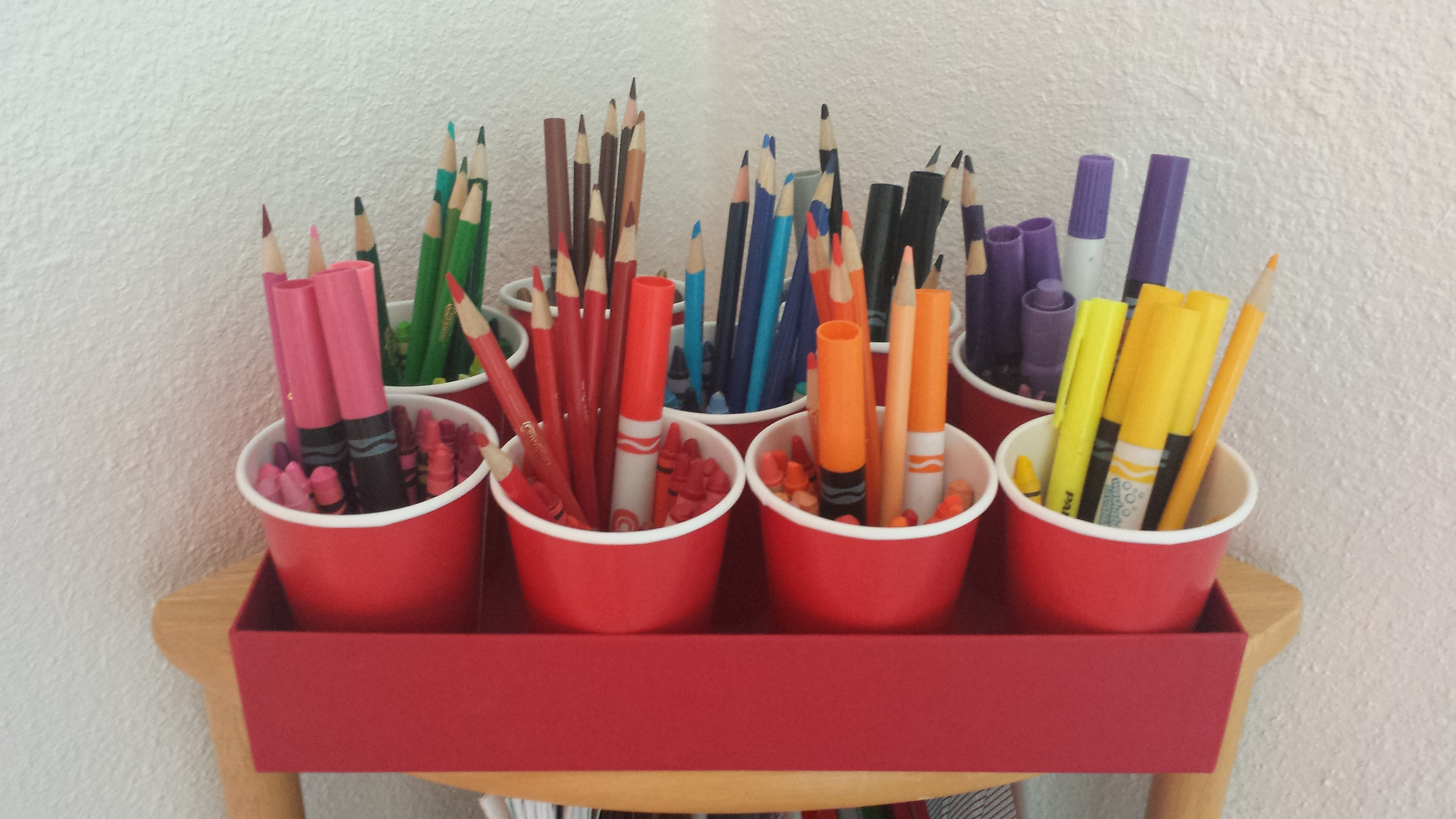 One Last Tip For Organizing Kids School Supplies Them In Place The House So You And Your Can Find When Need