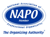 LOGO NAPO Member 60 second tasks you can do to instantly make your home more organized