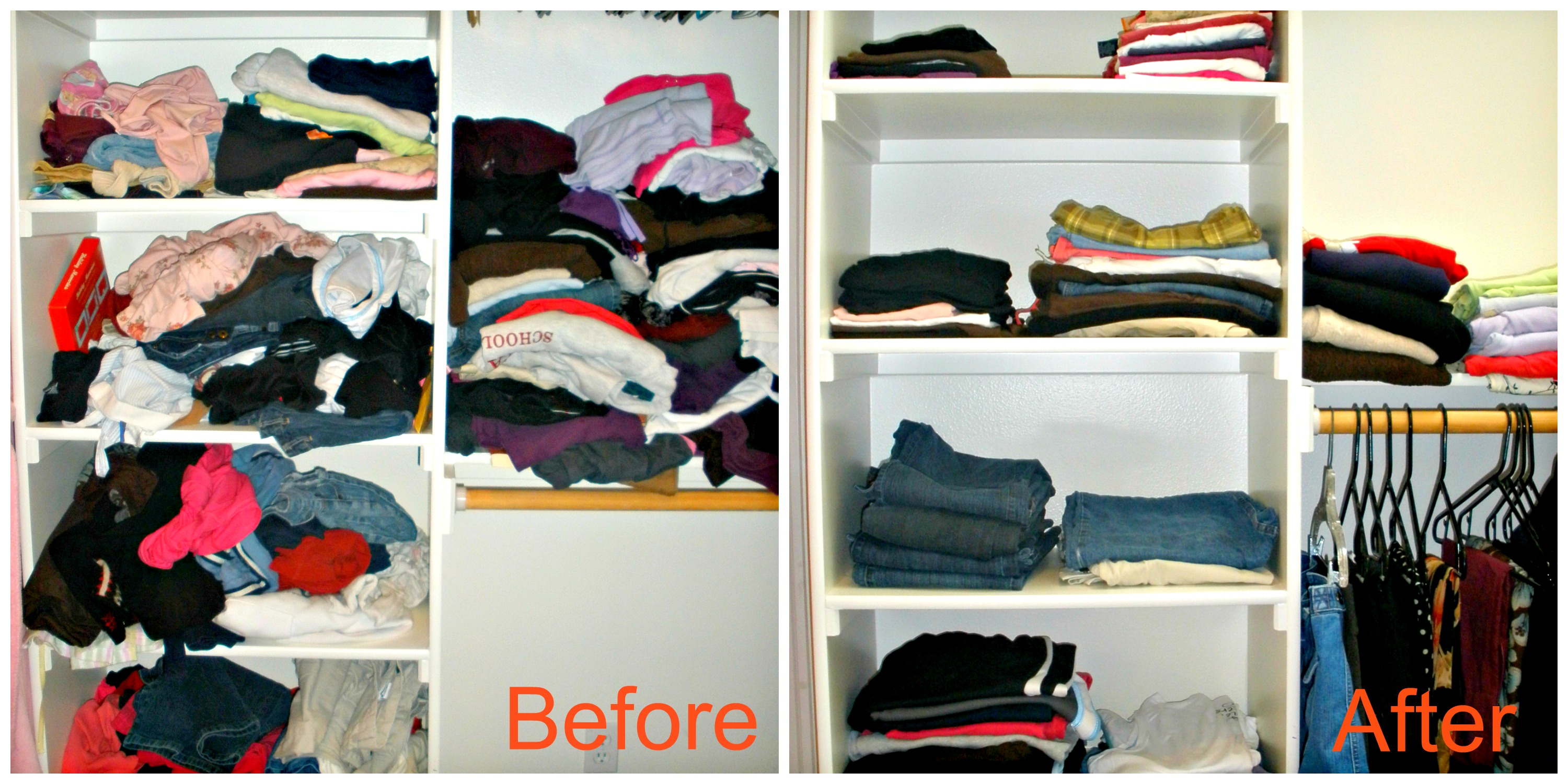 Closet collage The biggest organizing mistake I see people make ...