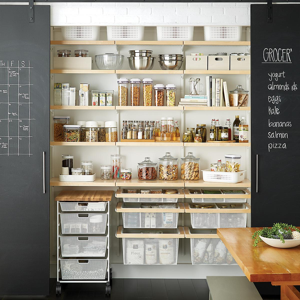Kitchen Store Design: How To Organize Your Pantry The Instagram Way