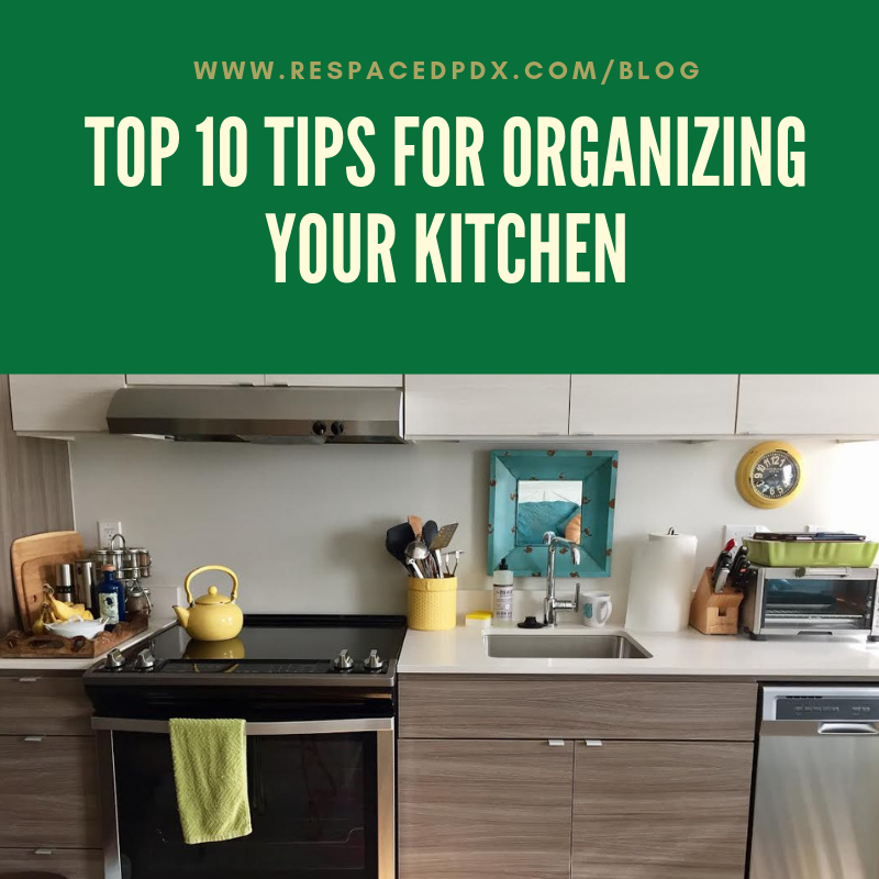 Top 10 tips for organizing your kitchen