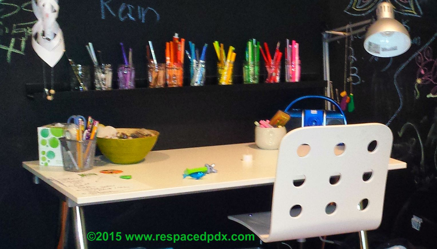 How To Organize Kids 39 School Supplies At Home Respaced