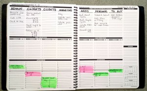 Planner Pad no directions