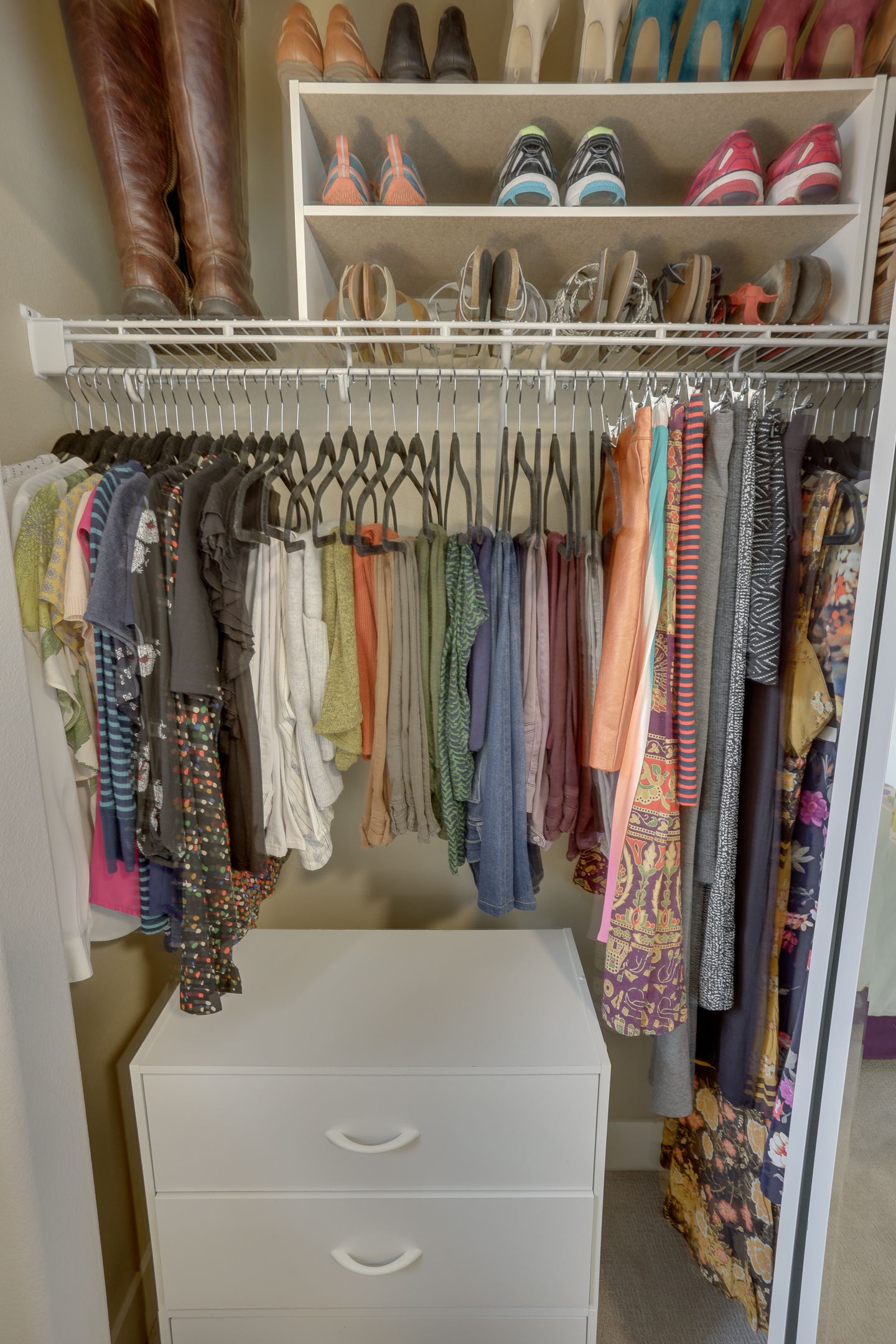 organization small walk image in ideas lingerie tips closet